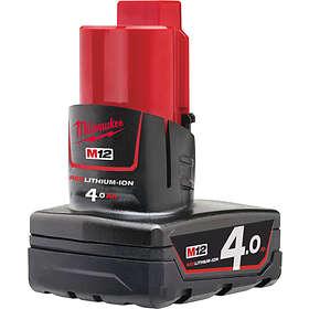 M12 B4 Batteri Milwaukee verktyg tillbehör