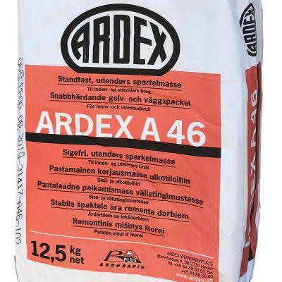 A 46 Ardex Cement sprickor hål