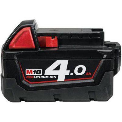 Milwaukee M18 B4 18V Li-lon Verktyg Batteri Tillbehör